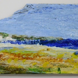 2010, encaustic on driftwood buy it