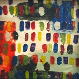 2011, encaustic on gesso board, 285*285