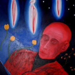 2001, acrylic on canvas, 610*760